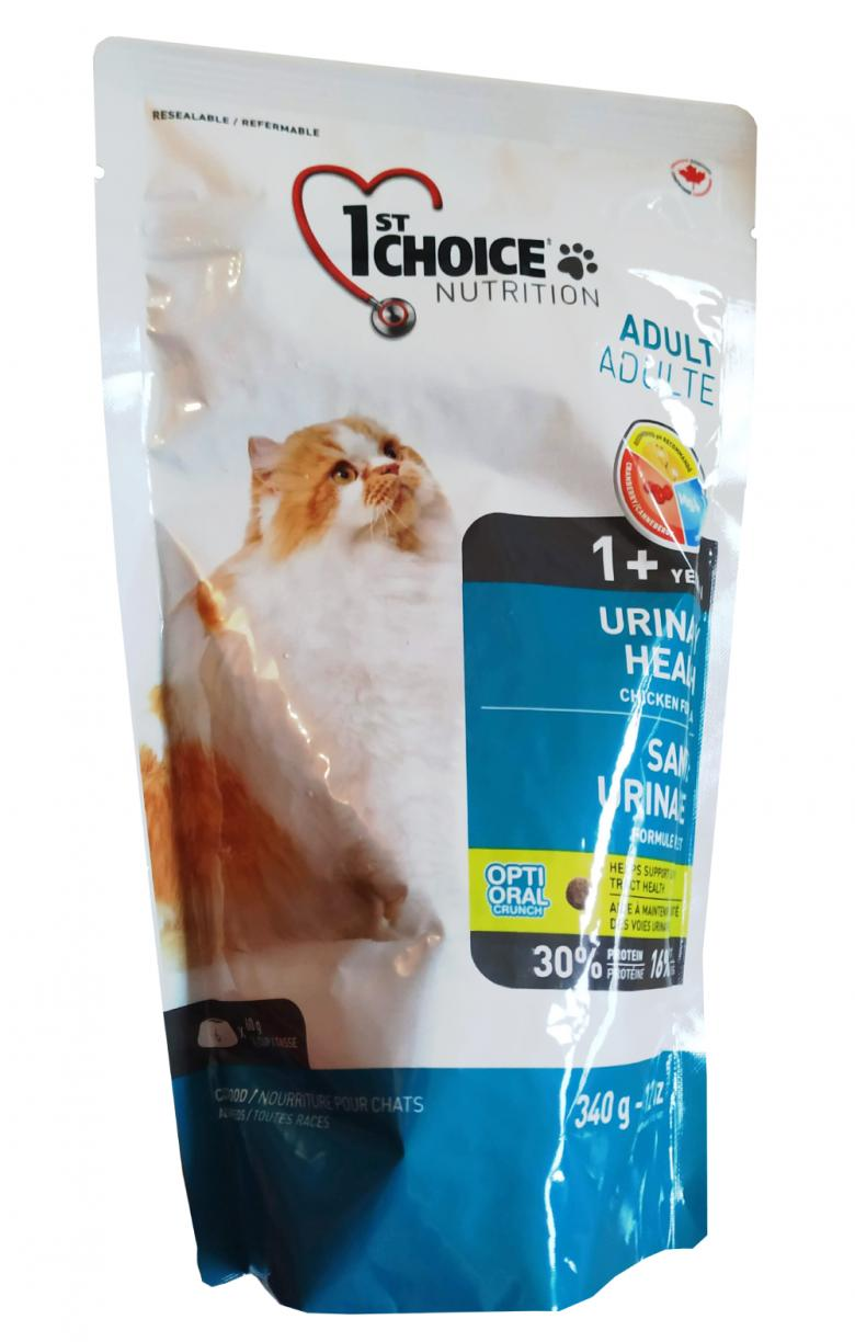 1st Choice Cat Adult Urinary 340 грамм