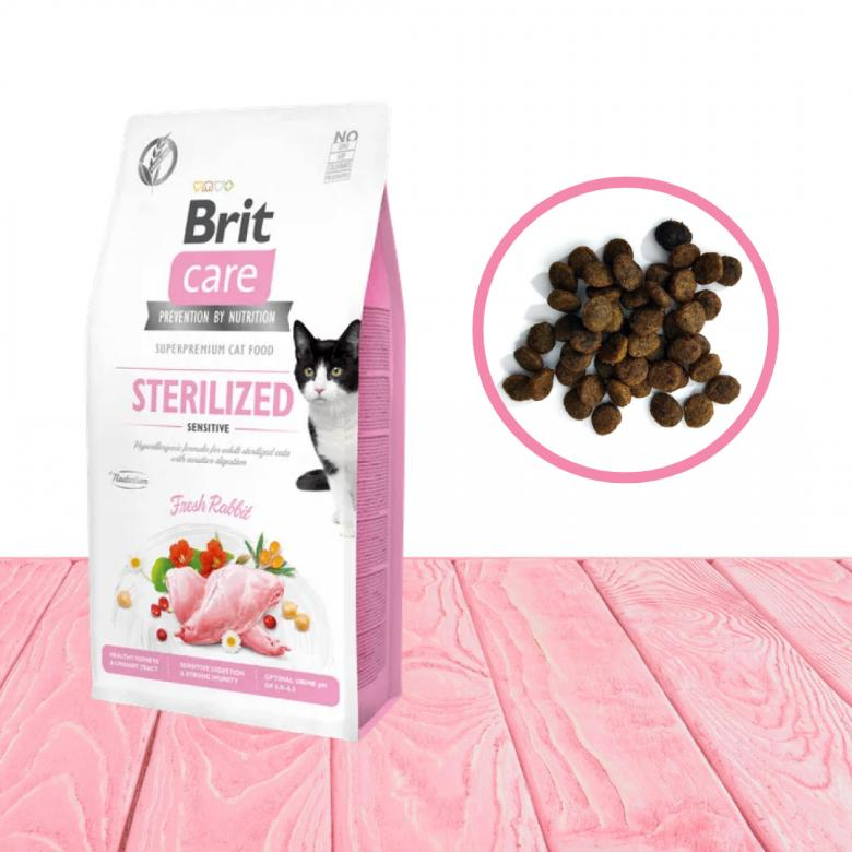 Brit Care Grain Free Sterilized Sensitive Fresh Rabbit